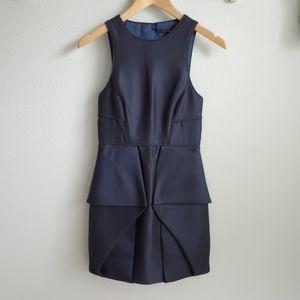 Tibi navy Simona sheath dress 2